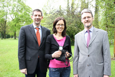 Dr. Christoph Schaudt, Dr. Bettina Glunz und Dr. Dieter Specht informierten im Lippe-Institut über Bluthochdruck. Foto: Heiko Appelbaum