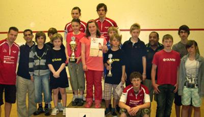 PSC Team / Finale Squash Junior Cup 2010 Köln