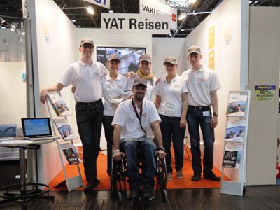 Urlaubsfeeling bei YAT Reisen auf der RehaCare