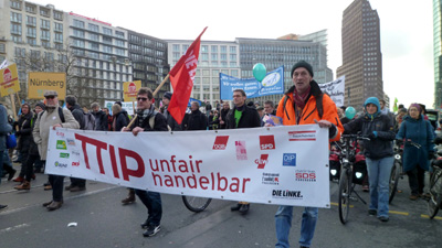 "Paderborner Netzwerk ""Stopp TTIP!"" in Berlin"
