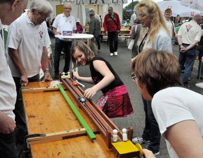 Libori im Caritas-Treff: Spiel, Informationen, Verköstigung und Begegnung bietet der Hatzfeld-Garten am Kleinen Domplatz. ©cpd