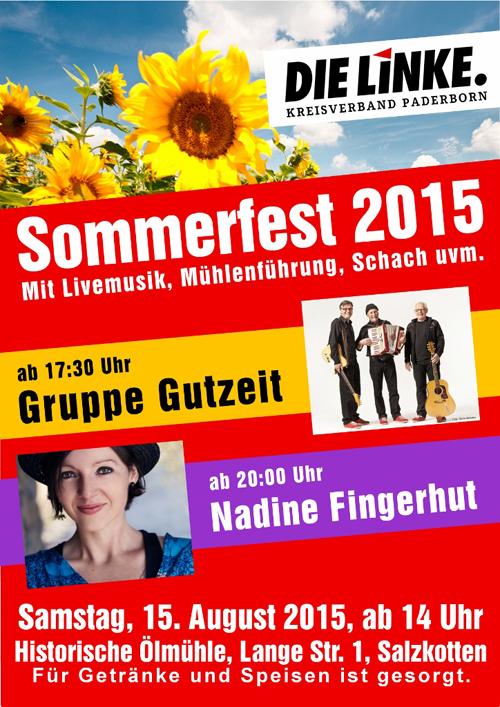 Kreis-Sommerfest der LINKEN
