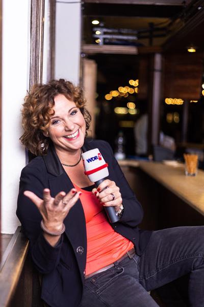 WDR 2 Moderatorin Steffi Neu auf Tour im Westen