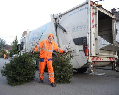 Weihnachtsbaumabholung 2019
