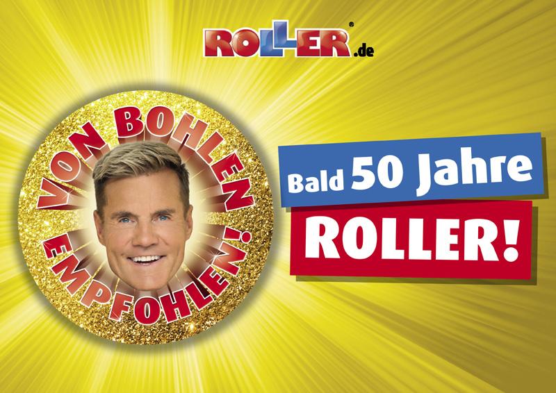 ROLLER startet mit Dieter Bohlen ins Jubiläumsjahr