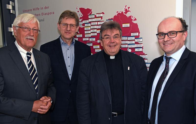 Bonifatiuswerk der deutschen Katholiken fördert im Jahr 2019 Projekte in der Diaspora mit 14 Millionen Euro