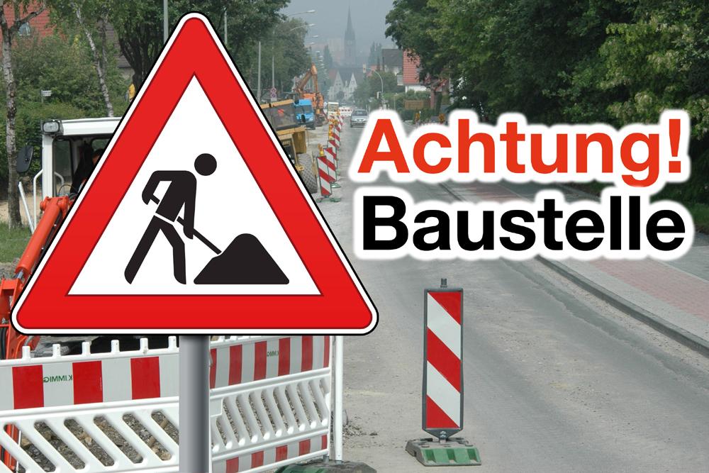 Sperrung Erzbergerstraße ab 3. April