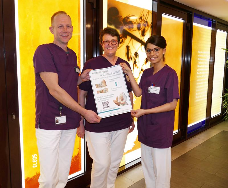 St. Vincenz-Krankenhaus GmbH startet innovatives Pflegeprojekt