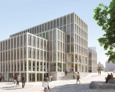 Neubau der Stadtverwaltung ist Thema
