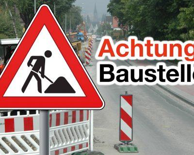 Riemekestraße ab Montag Einbahnstraße