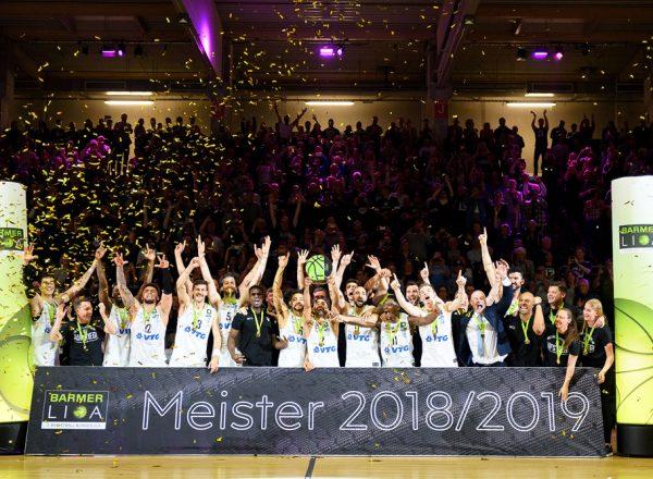 ProA Meister 18/19 – Hamburg Towers!