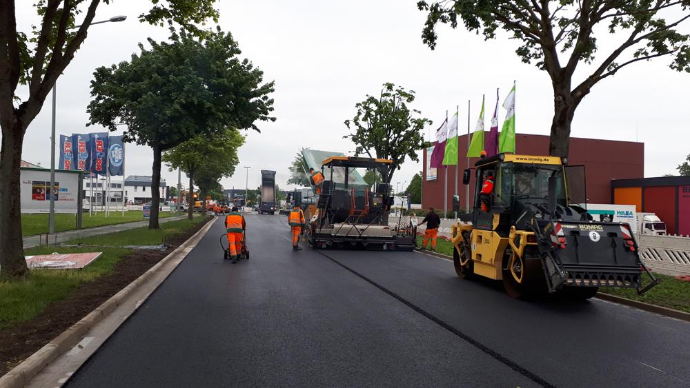Steubenstraße wieder frei