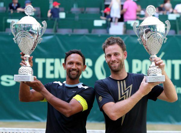 Klaasen und Venus gewinnen den Doppeltitel
