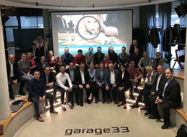 """Ideen-Labor in der """"Garage 33"""" mit vielen kreativen Vorschlägen"""