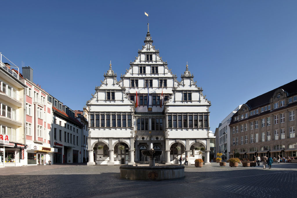 Das Rathaus in Paderborn