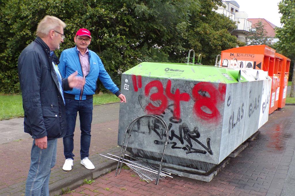 Kaukenberg: Müllstation als Eingangstor?