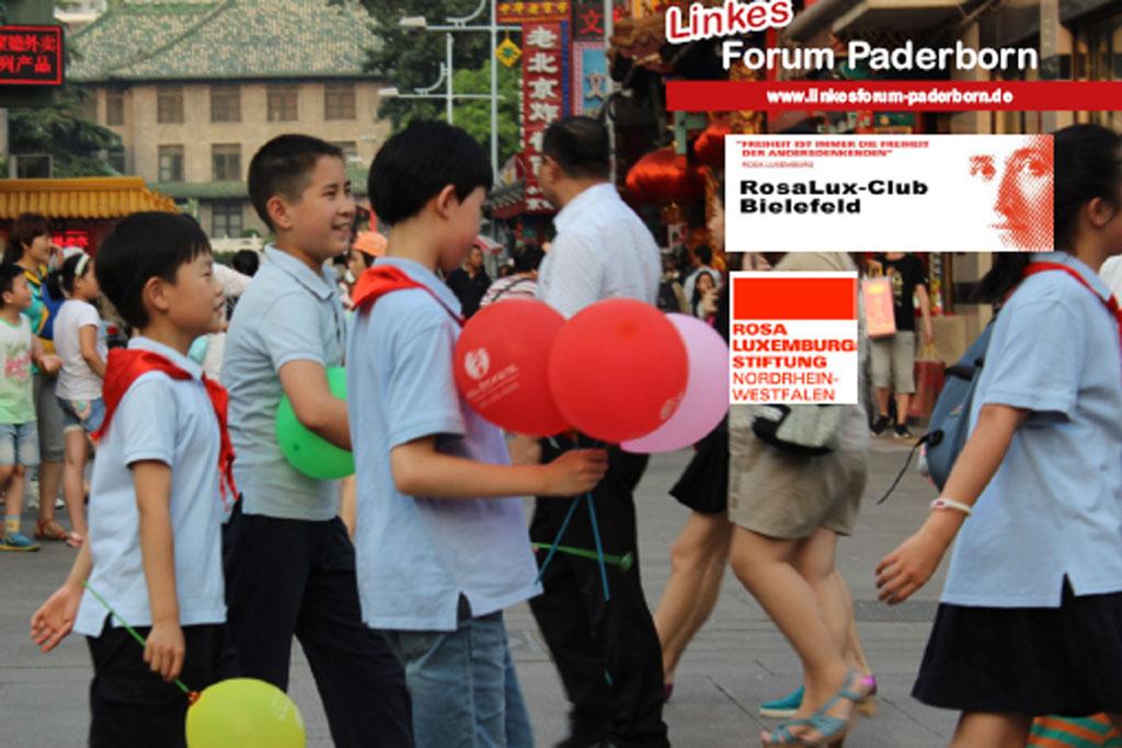 Straßenscene China