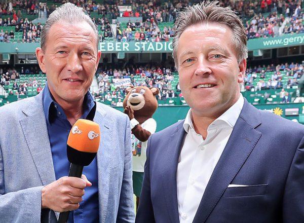 Mainzer TV-Sender ZDF und Haller ATP-Turnier bleiben erfolgreiche Partner