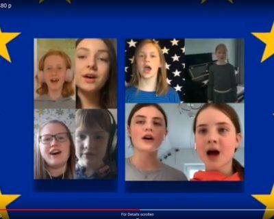 Städtepartnerschaftliches Musikvideo zum Europatag