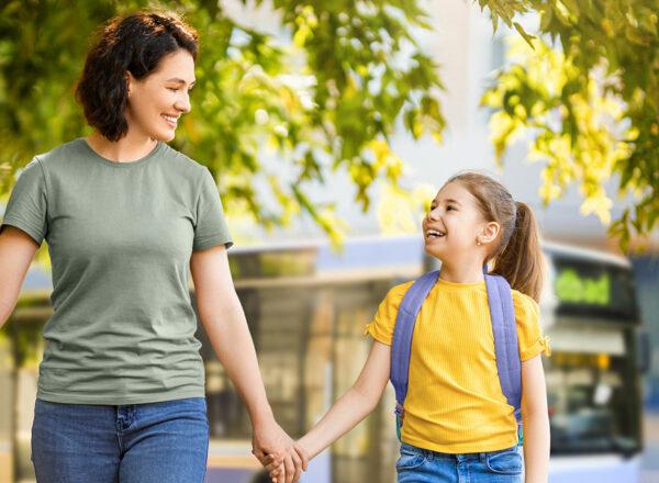 Mit dem kostenlosen ElternKindTicket den Schulweg üben